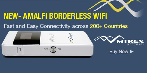 NEW- AMALFI BORDERLESS WIFI