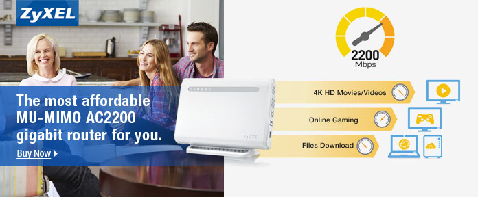The most affordable MU-MIMO AC2200 gigabit router for you