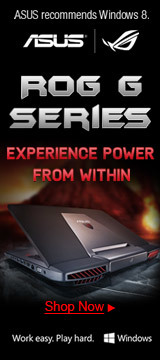 ROG G experience power from within