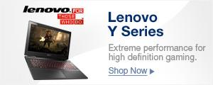 Lenovo Y Series