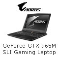 GeForce GTX 965M SLI Gaming Laptop