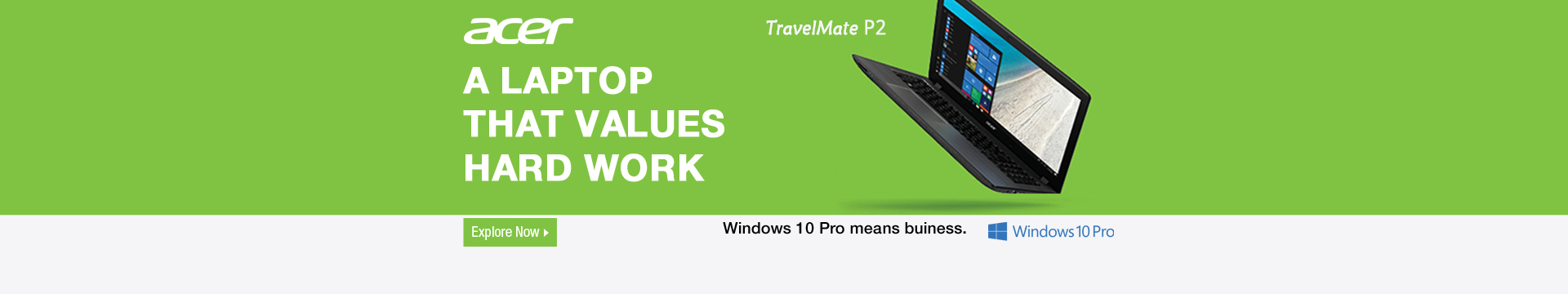 A Laptop that Value Hard Work