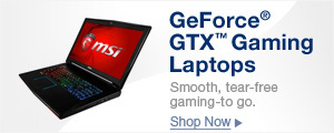 THE WORLD'S MOST ADVANCED GAMING LAPTOPS