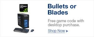 BULLETS OR BLADES