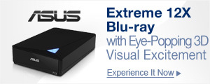 Extreme 12X Blu-ray with Eye-Popping 3D Visual Excitement