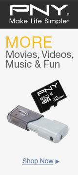 More movies videos, music & fun