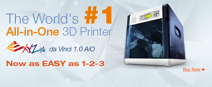 The World's #1 All-in-One 3D Printer