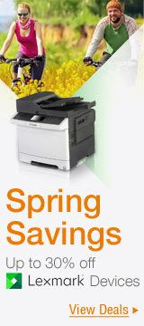 Spring Savings