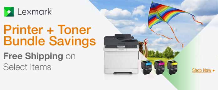Printer + toner bundle savings