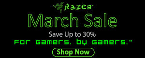 Razer March Sale