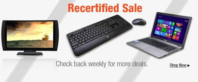 Recertified Sale