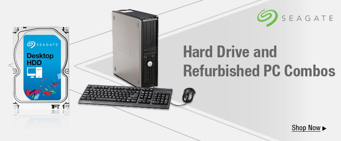 Hard Drive and Refurbished PC Combos