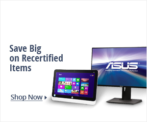 Save big on recertified items