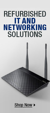 refurbished it and networking solutions