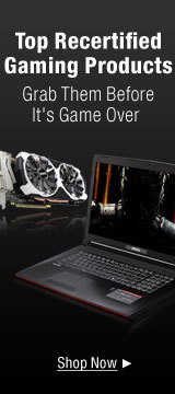 Top recertified gaming products