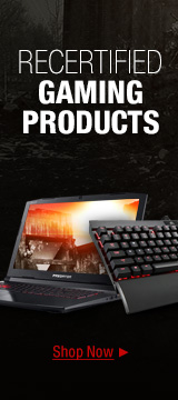 RECERTIFIED GAMING PRODUCTS