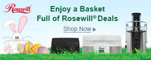 The Bunny Brought a Basket Full of Rosewill Deals: