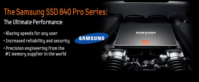 The Samsung SSD 840 Pro Series