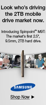 Samsung Spinpoint 2TB M9T Launch