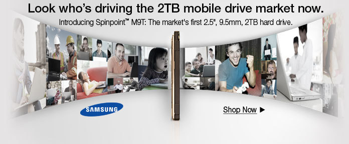 Look who's driving the 2TB mobile drive market now