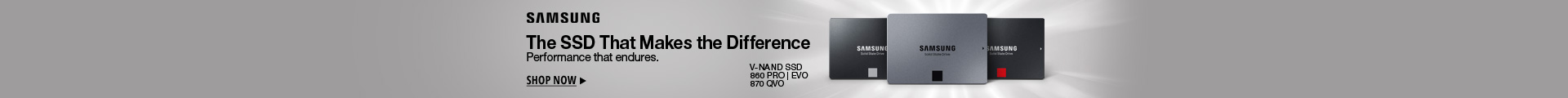 The SSD that makes the difference