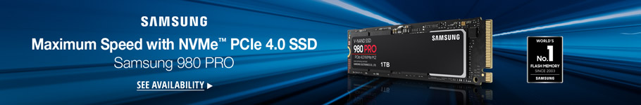 MAXIMUM SPEED WITH NVME PCLE 4.0 SSD