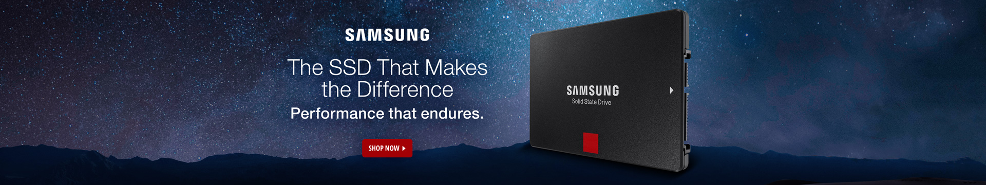 Samsung The SSD that makes the difference