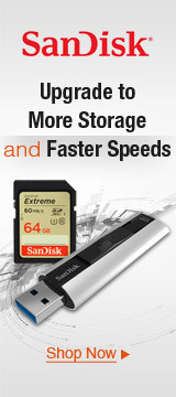 Upgrade to More Storage and Faster Speeds
