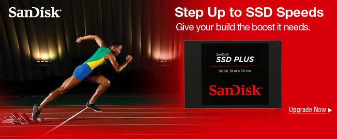 Step up to SSD speeds