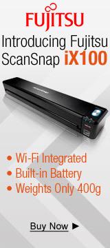 Introducing Fujitsu ScanSnap ix100