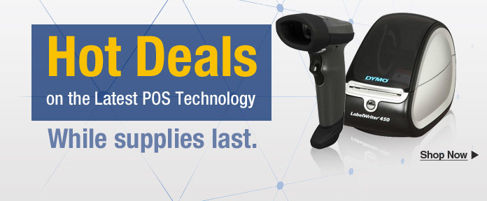 Hot deals on the latest POS technology