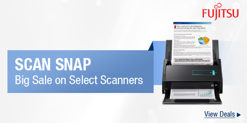 Scan snap big sale on select scanners