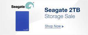 Seagate 2TB Storage Sale
