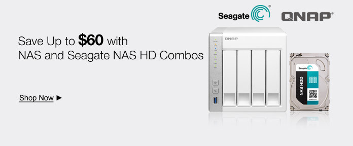 Save Up to $60 with NAS and Seagate NAS HD Combos
