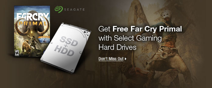 Get Free Far Cry Primal with Gaming Hard Drives