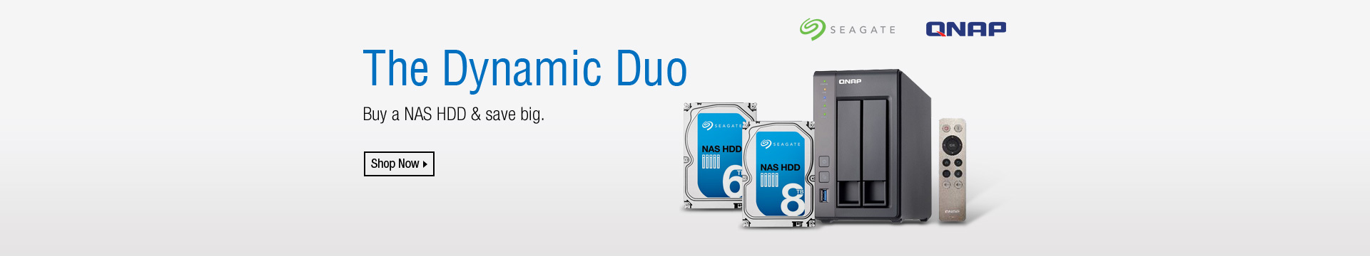 The Dynamic Duo. NAS + HDD Combos