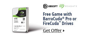 Free game with BarraCuda Pro or FireCuda™ Drives