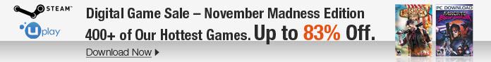 November Digital Game Sale, Up to 83% off