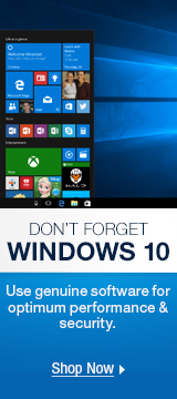 Don't Forget Windows 10