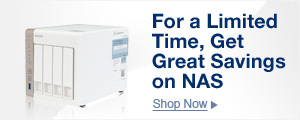 For a limited time, get great savings on NAS