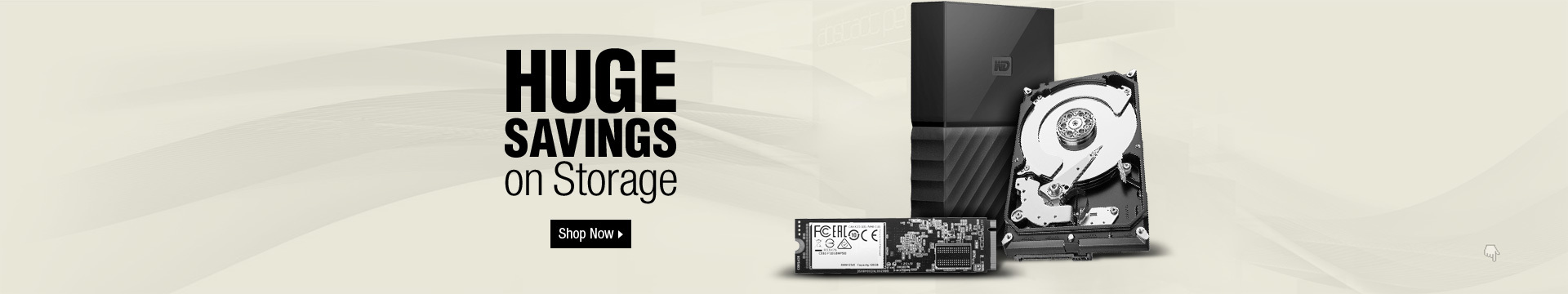 Huge Savings on Storage
