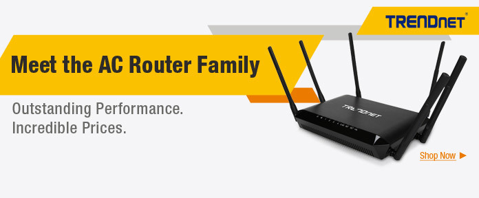 Meet the AC Router Family