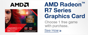 AMD Radeon R7 Series Graphics Card