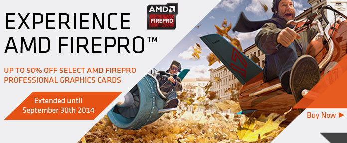 EXPERIENCE AMD FIREPRO