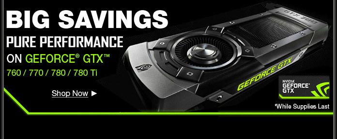 Big Saving on Geforce GTX