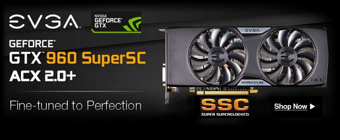 GEFORCE® GTX™ 960 SuperSC ACX 2.0+