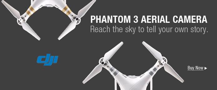 Phantom 3 Aerial Camera.