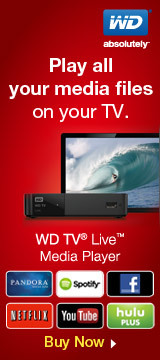 Play all your media files on your TV. WD TV® Live™ Media Player