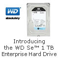 Introducing the WD Se™ 1 TB Enterprise Hard Drive