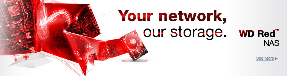 Your network, our storage